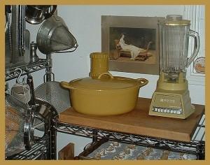 Ochre kitchen suite