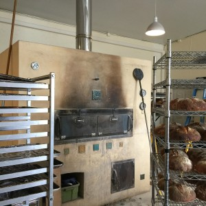 Piedrasassi bread oven, racks